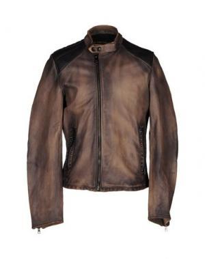 Куртка WE ARE REPLAY. Цвет: коричневый