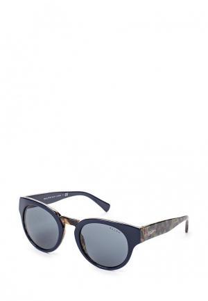 Очки солнцезащитные Ralph Lauren. Цвет: синий