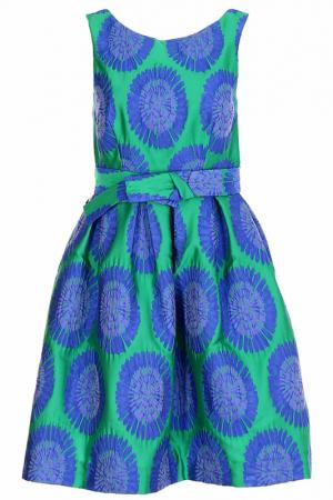 Платье P.A.R.O.S.H.. Цвет: зеленый