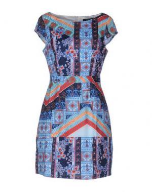 Короткое платье CUTIE. Цвет: небесно-голубой