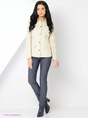 Куртка HARTWEAR. Цвет: бежевый, молочный, кремовый, темно-бежевый