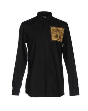 Pубашка SALVATORE PICCOLO. Цвет: черный