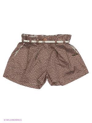 Юбка-шорты CHOUPETTE. Цвет: коричневый