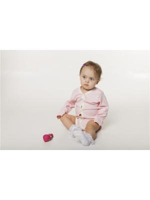 Боди ORANGE BABY. Цвет: бледно-розовый, светло-бежевый
