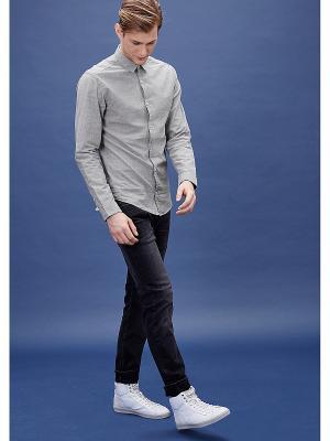 Рубашка S.OLIVER. Цвет: темно-серый