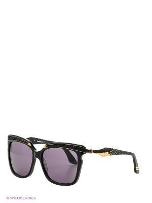Солнцезащитные очки BLD 1626 101 GB SIGNATURE Baldinini. Цвет: черный