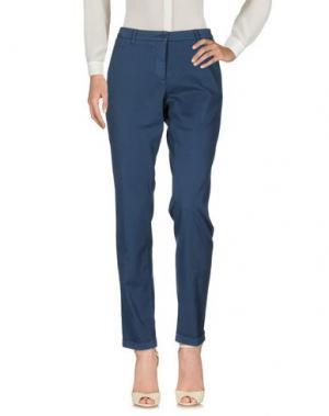 Повседневные брюки VIA MASINI 80. Цвет: грифельно-синий