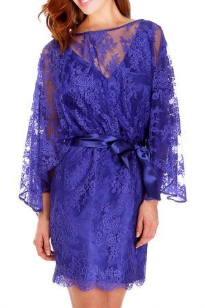 Платье Faust. Цвет: синий