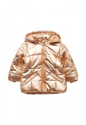 Куртка утепленная Name It. Цвет: золотой