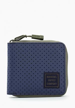 Кошелек Herschel Supply Co. Цвет: синий