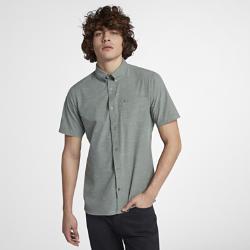 Мужская рубашка с коротким рукавом Hurley Alchemy Nike. Цвет: серый