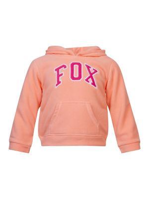 Худи FOX. Цвет: персиковый