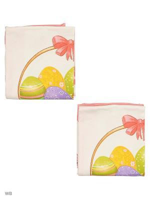 Набор полотенец для кухни - 2шт. (38*64) Dorothy's Нome. Цвет: розовый