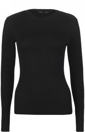 Вязаный пуловер Proenza Schouler. Цвет: черный