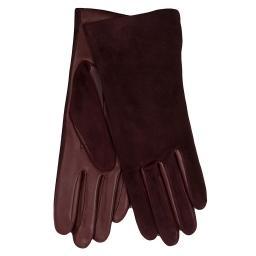 Перчатки  INES/AGN/W бордовый AGNELLE