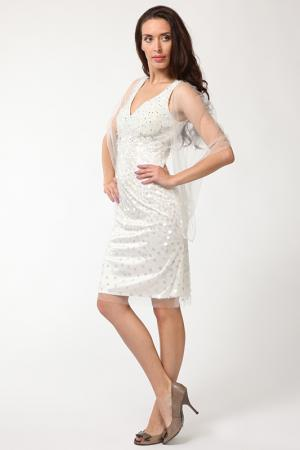 Платье Aeelis. Цвет: белый