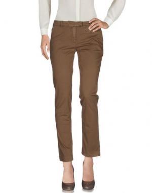 Повседневные брюки ROSE & LINI. Цвет: верблюжий