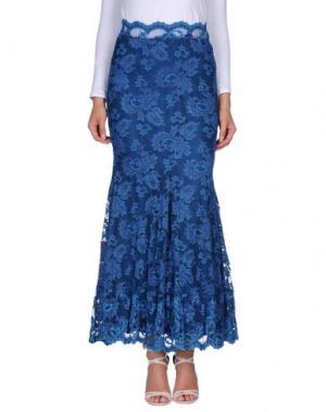 Длинная юбка BALENSI. Цвет: пастельно-синий