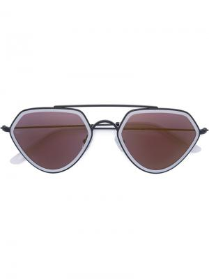 Geo II sunglasses Smoke X Mirrors. Цвет: белый