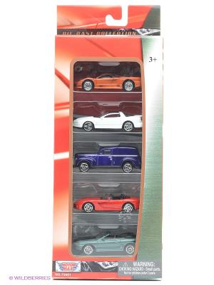 Коллекционные машинки Набор F Motormax. Цвет: красный