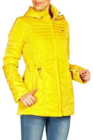 Куртка DizzyWay. Цвет: горчичный