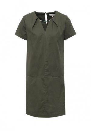 Платье NewLily. Цвет: зеленый