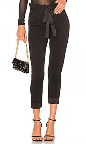 Укороченные брюки andi For Love & Lemons. Цвет: черный