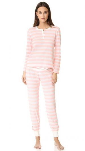 Пижама Cara Morgan Lane. Цвет: пудровый