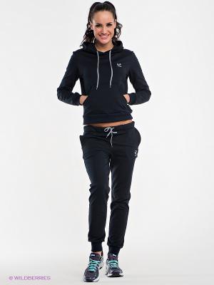 Спортивный костюм Runika. Цвет: темно-синий