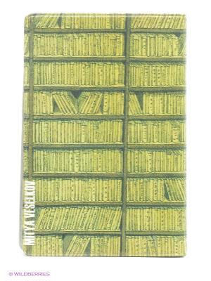 Визитница В библиотеке Mitya Veselkov. Цвет: зеленый, желтый