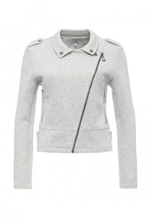Куртка Only. Цвет: серый