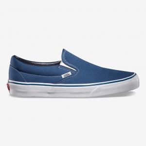 Слипоны Classic Slip-On VANS. Цвет: синий