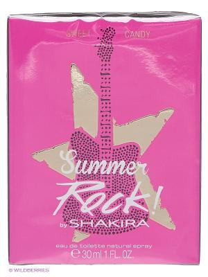 Туалетная вода Shakira Candy Rock Summer Edition, 30 мл.. Цвет: прозрачный