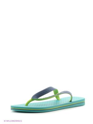 Шлепанцы Ipanema. Цвет: зеленый