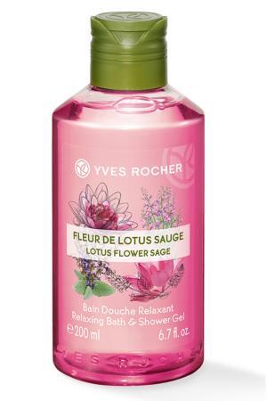 Гель для душа и ванны, 200 мл Yves Rocher. Цвет: none