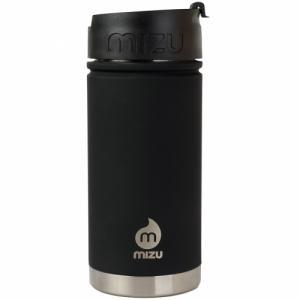 Термобутылка Для Воды MIZU. Цвет: st black le w/ coffee lid