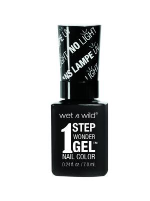 Гель-лак для ногтей 1 Step Wonder Gel E7351 power outage Wet n Wild. Цвет: черный