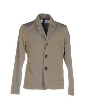 Куртка GEOSPIRIT. Цвет: светло-серый