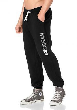 Брюки OCEAN Sportswear. Цвет: черный