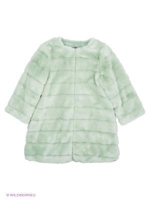 Куртка Sisley Young. Цвет: серо-зеленый, серебристый, светло-зеленый