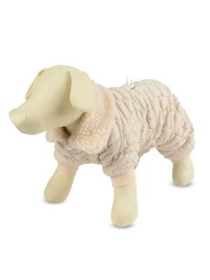 Комбинезон утепленный для собак TRIOL. Цвет: белый