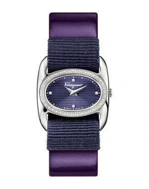 Наручные часы SALVATORE FERRAGAMO. Цвет: фиолетовый