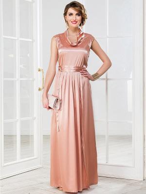 Платье La vida rica. Цвет: персиковый
