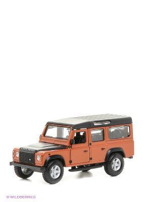 1:32 BB Машина LAND ROVER DEFENDER 110 металл. Bburago. Цвет: оранжевый, черный