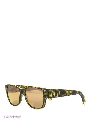 Солнцезащитные очки TOUCH. Цвет: зеленый