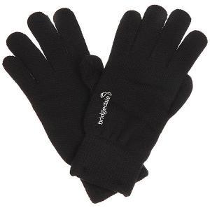Перчатки  Merino Glove Black Bridgedale. Цвет: черный