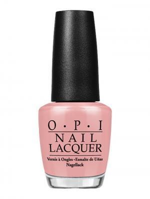 Opi Лак для ногтей My Very First Knockwurst, 15 мл. Цвет: бледно-розовый