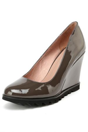 Туфли Carlabei. Цвет: серый