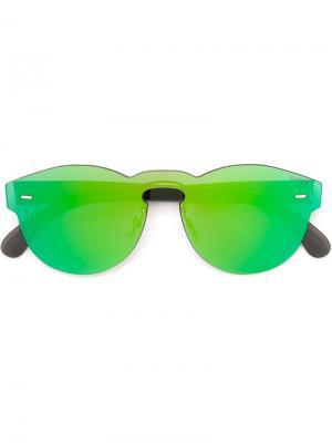 Солнцезащитные очки Tuttolente Paloma Retrosuperfuture. Цвет: зелёный