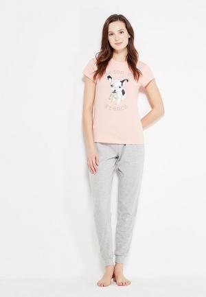 Пижама Loungeable. Цвет: разноцветный